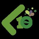 Logo Libertia - 10 años